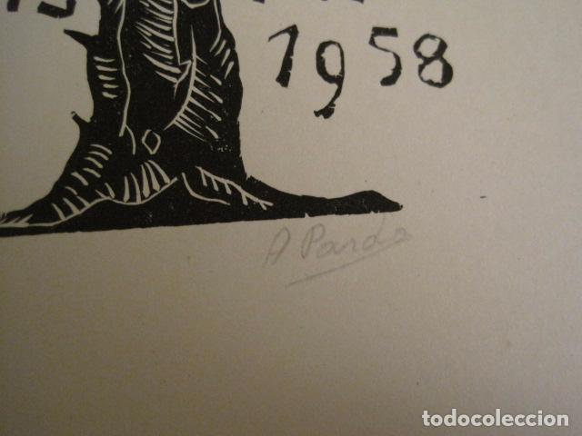 Arte: EX LIBRIS - STVDIVM - CONCURSO AÑO 1958 - LIBRO EXLIBRIS , FIRMAS - ETC... . -VER FOTOS-(X-1586) - Foto 23 - 78889677