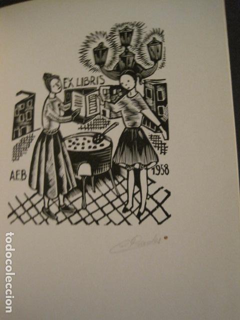 Arte: EX LIBRIS - STVDIVM - CONCURSO AÑO 1958 - LIBRO EXLIBRIS , FIRMAS - ETC... . -VER FOTOS-(X-1586) - Foto 26 - 78889677