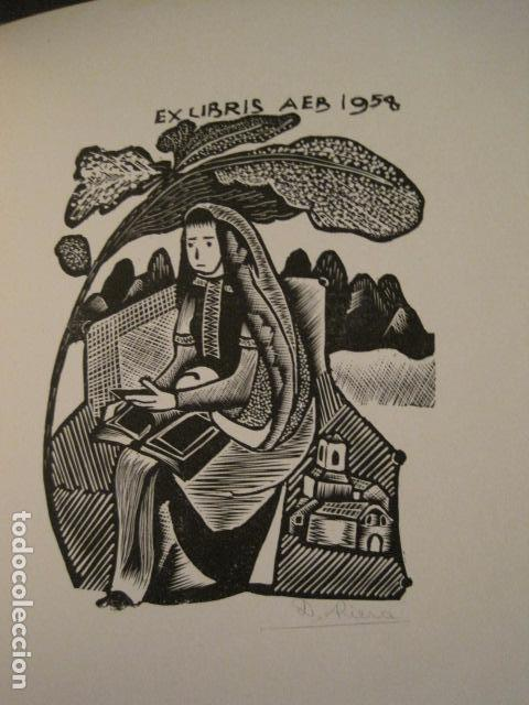 Arte: EX LIBRIS - STVDIVM - CONCURSO AÑO 1958 - LIBRO EXLIBRIS , FIRMAS - ETC... . -VER FOTOS-(X-1586) - Foto 28 - 78889677