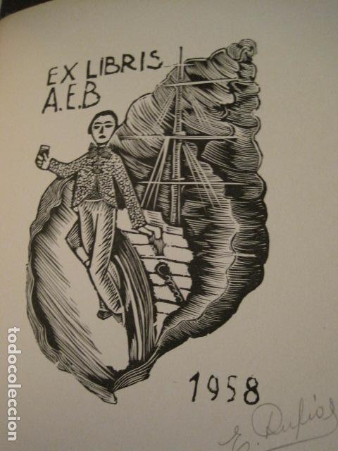 Arte: EX LIBRIS - STVDIVM - CONCURSO AÑO 1958 - LIBRO EXLIBRIS , FIRMAS - ETC... . -VER FOTOS-(X-1586) - Foto 30 - 78889677