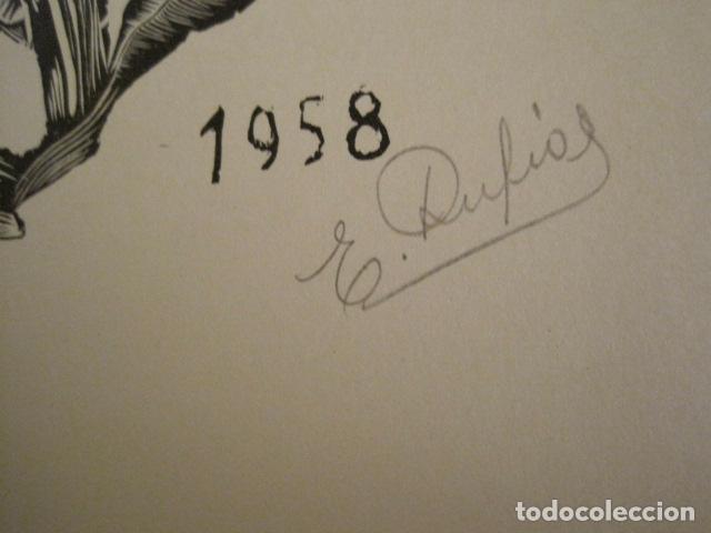 Arte: EX LIBRIS - STVDIVM - CONCURSO AÑO 1958 - LIBRO EXLIBRIS , FIRMAS - ETC... . -VER FOTOS-(X-1586) - Foto 31 - 78889677