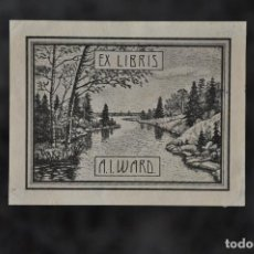 Arte: EX LIBRIS A. I. WARD . Lote 80495193