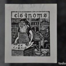 Arte: EX LIBRIS ELS GNOMS . Lote 80495297