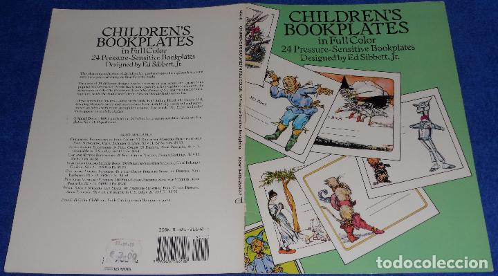 Arte: Children's Bookplates in Full Color - Ed Sibbett , Jr - Sensitive Bookplates Paperback (1991) - Foto 5 - 84157352