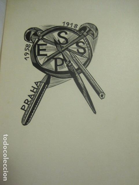 Arte: EX LIBRIS - TXECOSLOVACOS - LIBRO NUMERADO EXLIBRIS - BARCELONA 1958 . -VER FOTOS-(X-1591) - Foto 2 - 84619752