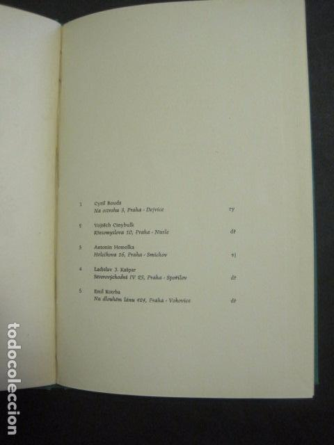 Arte: EX LIBRIS - TXECOSLOVACOS - LIBRO NUMERADO EXLIBRIS - BARCELONA 1958 . -VER FOTOS-(X-1591) - Foto 6 - 84619752