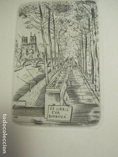 Arte: EX LIBRIS - TXECOSLOVACOS - LIBRO NUMERADO EXLIBRIS - BARCELONA 1958 . -VER FOTOS-(X-1591) - Foto 9 - 84619752