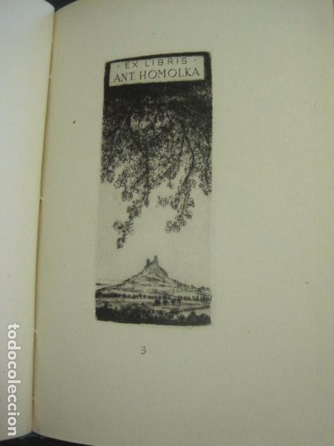 Arte: EX LIBRIS - TXECOSLOVACOS - LIBRO NUMERADO EXLIBRIS - BARCELONA 1958 . -VER FOTOS-(X-1591) - Foto 11 - 84619752