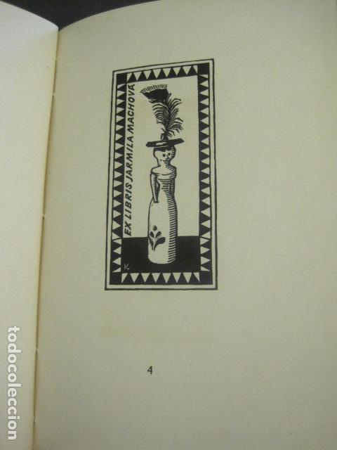 Arte: EX LIBRIS - TXECOSLOVACOS - LIBRO NUMERADO EXLIBRIS - BARCELONA 1958 . -VER FOTOS-(X-1591) - Foto 12 - 84619752