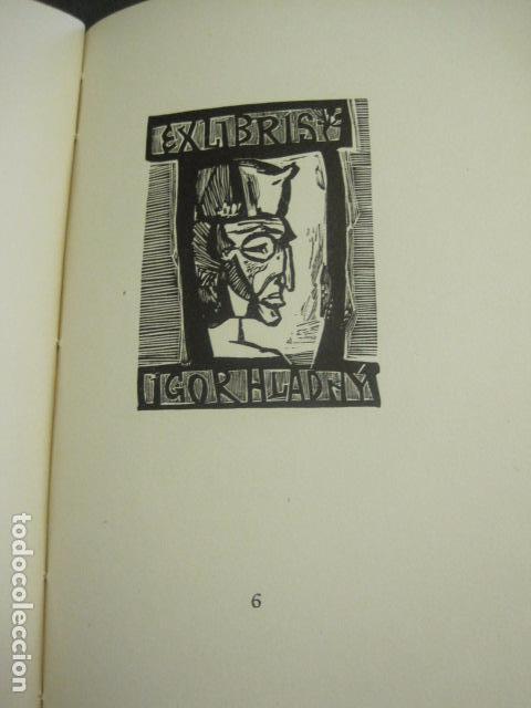 Arte: EX LIBRIS - TXECOSLOVACOS - LIBRO NUMERADO EXLIBRIS - BARCELONA 1958 . -VER FOTOS-(X-1591) - Foto 14 - 84619752