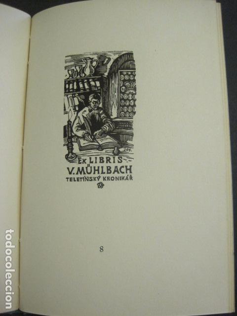 Arte: EX LIBRIS - TXECOSLOVACOS - LIBRO NUMERADO EXLIBRIS - BARCELONA 1958 . -VER FOTOS-(X-1591) - Foto 16 - 84619752