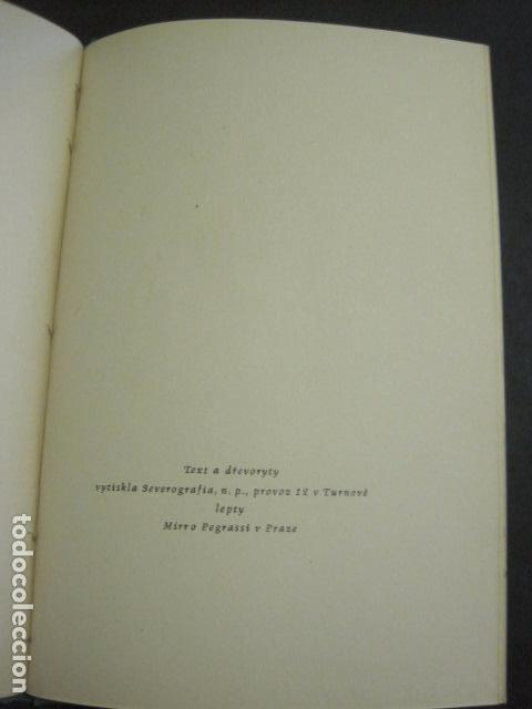 Arte: EX LIBRIS - TXECOSLOVACOS - LIBRO NUMERADO EXLIBRIS - BARCELONA 1958 . -VER FOTOS-(X-1591) - Foto 19 - 84619752