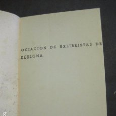 Arte: EX LIBRIS -LEIPZIG - LIBRO EXLIBRIS -1961 . -VER FOTOS-(X-1592). Lote 84620600