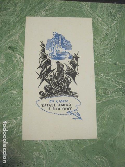 Arte: EX LIBRIS - BASADOS EN EL TEMA FAUNA - LIBRO EXLIBRIS -1970 . -VER FOTOS-(X-1593) - Foto 4 - 84629912