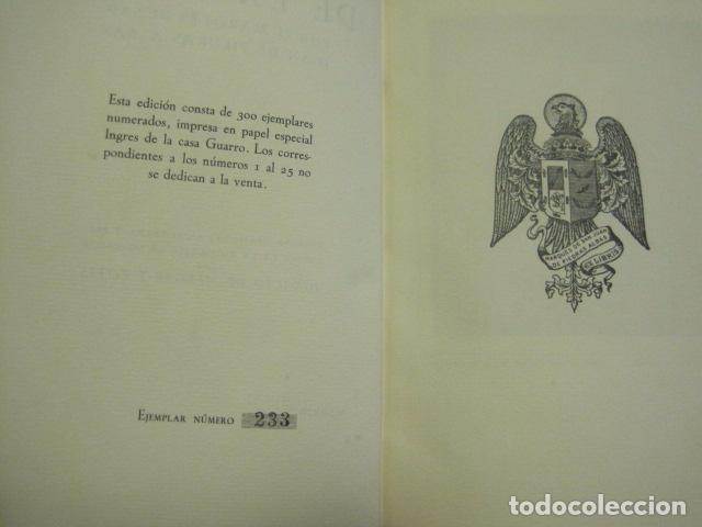 Arte: EX LIBRIS - MARQUES DE SAN JUAN DE PIEDRAS ALBAS-LIBRO EXLIBRIS NUMERADO AÑO 1946-VER FOTOS-(X-1594) - Foto 4 - 84630584
