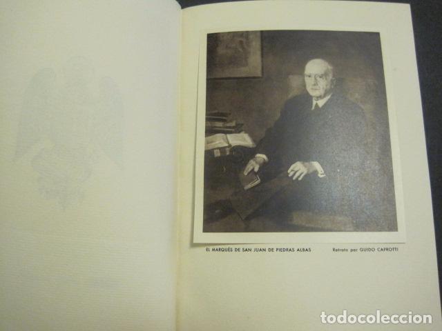 Arte: EX LIBRIS - MARQUES DE SAN JUAN DE PIEDRAS ALBAS-LIBRO EXLIBRIS NUMERADO AÑO 1946-VER FOTOS-(X-1594) - Foto 5 - 84630584