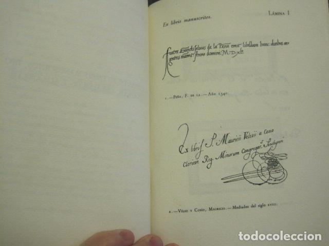 Arte: EX LIBRIS - MARQUES DE SAN JUAN DE PIEDRAS ALBAS-LIBRO EXLIBRIS NUMERADO AÑO 1946-VER FOTOS-(X-1594) - Foto 9 - 84630584