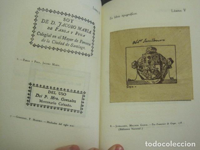 Arte: EX LIBRIS - MARQUES DE SAN JUAN DE PIEDRAS ALBAS-LIBRO EXLIBRIS NUMERADO AÑO 1946-VER FOTOS-(X-1594) - Foto 11 - 84630584
