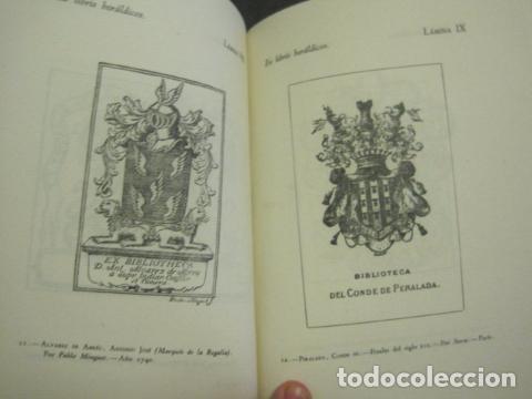 Arte: EX LIBRIS - MARQUES DE SAN JUAN DE PIEDRAS ALBAS-LIBRO EXLIBRIS NUMERADO AÑO 1946-VER FOTOS-(X-1594) - Foto 13 - 84630584