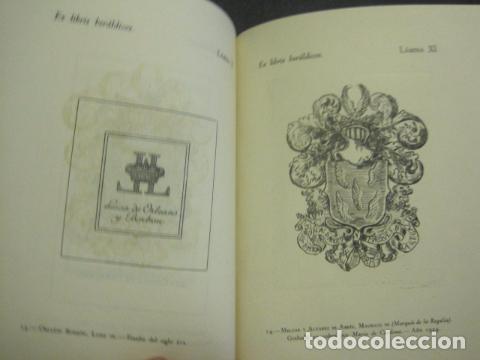 Arte: EX LIBRIS - MARQUES DE SAN JUAN DE PIEDRAS ALBAS-LIBRO EXLIBRIS NUMERADO AÑO 1946-VER FOTOS-(X-1594) - Foto 14 - 84630584