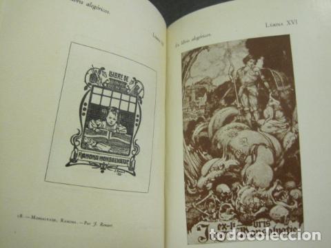 Arte: EX LIBRIS - MARQUES DE SAN JUAN DE PIEDRAS ALBAS-LIBRO EXLIBRIS NUMERADO AÑO 1946-VER FOTOS-(X-1594) - Foto 17 - 84630584