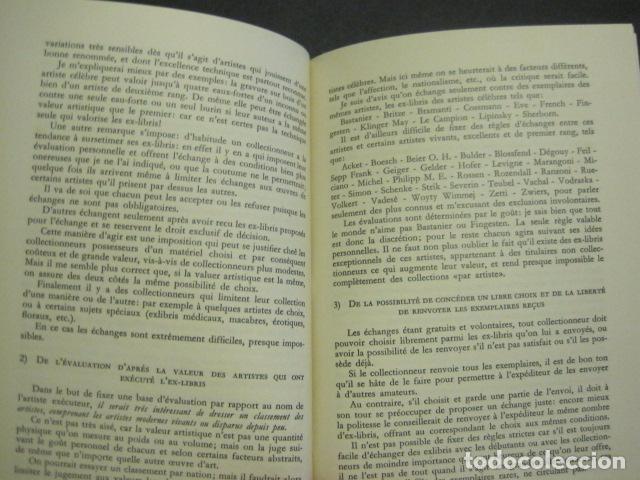 Arte: EX LIBRIS - VI CONGRESO EUROPEO EX LIBRIS - BARCELONA -AÑO 1958-VER FOTOS-(X-1595) - Foto 7 - 84631524