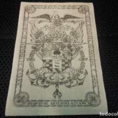 Arte: EX LIBRIS DEL XVII DUQUE DEL INFANTADO - XXXVIII ALMIRANTE DE ARAGON EXLIBRIS MARQUES DE SANTILLANA. Lote 85711704