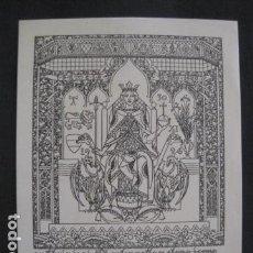 Arte: EX LIBRIS - TRIADO -VER FOTOS-(X-1599). Lote 86132884
