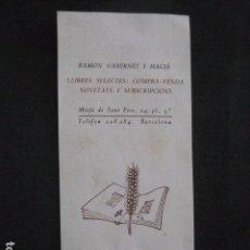 Arte: EX LIBRIS - RAMON GABERNET -VER FOTOS-(X-1614). Lote 86137136