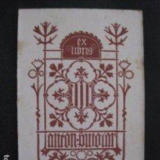 Arte: EX LIBRIS - TRIADO - VER FOTOS-(X-1628). Lote 86139600