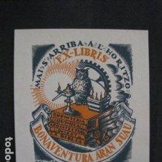 Arte: EX LIBRIS - BON - VER FOTOS-(X-1651). Lote 86148440