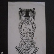 Arte: EX LIBRIS - JOSEPH BIOSCA - CASADEMUNT - VER FOTOS - (X-1682). Lote 86370240