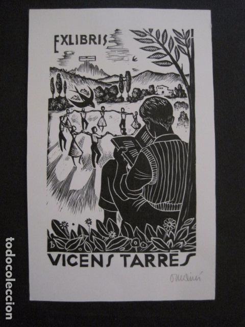 EX LIBRIS - VICENS TARRES - VER FOTOS - (X-1691) (Arte - Ex Libris)