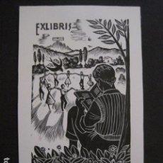 Arte: EX LIBRIS - VICENS TARRES - VER FOTOS - (X-1691). Lote 86371624