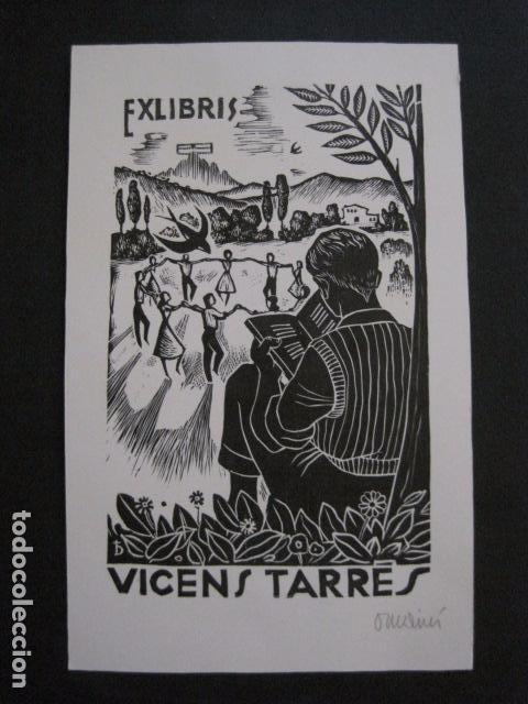 Arte: EX LIBRIS - VICENS TARRES - VER FOTOS - (X-1691) - Foto 2 - 86371624