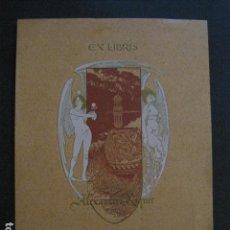 Arte: EX LIBRIS - ALEXANDRE RIQUER 1903 -VER FOTOS - (X-1722). Lote 86378616