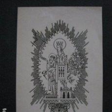 Arte: EX LIBRIS - TRIADO - VER FOTOS - (X-1769). Lote 86580820