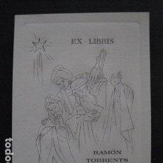 Arte: EX LIBRIS - RAMON TORRENTS OLIVE - VER FOTOS - (X-1774). Lote 86581180