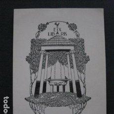 Arte: EX LIBRIS -TRIADO - VER FOTOS - (X-1794). Lote 86582424