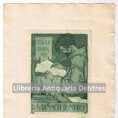 Arte: [EX LIBRIS. LUIS GARCIA FALGAS. 1921] EX-LIBRIS R. SURIÑACH SENTIES. . Lote 86917420
