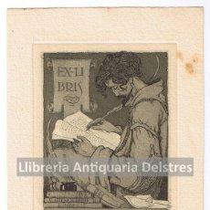 Arte: [EX LIBRIS. LUIS GARCIA FALGAS. 1921] EX-LIBRIS R. SURIÑACH SENTIES 2. Lote 86917572