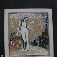 Arte: EX LIBRIS - ISABEL NOLLA - TRIADO 1899 -VER FOTOS-(X-1805). Lote 87257116