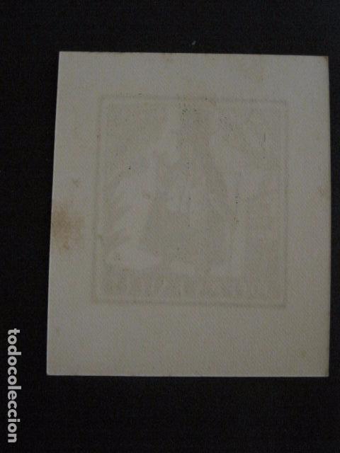 Arte: EX LIBRIS - VER FOTOS -(X-1831) - Foto 2 - 87938044