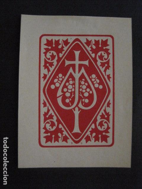 EX LIBRIS - VER FOTOS -(X-1834) (Arte - Ex Libris)