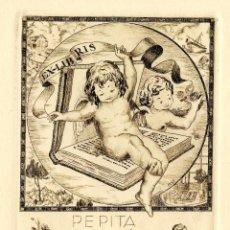Arte: ROSSELL ROSAL, RAIMUNDO (1924-)EX LIBRIS PARA PEPITA PALLE. Lote 88800208