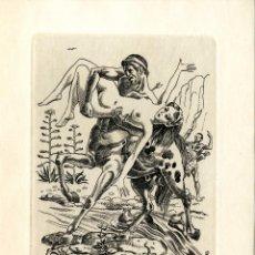 Arte: FERNÁNDEZ SÁEZ, J. (1924-). EX LIBRIS PARA JOSEP KYLHOF. Lote 88926244