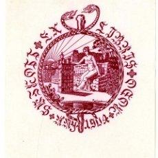 Arte: CASADEMUNT, MODEST (1881-1964). EX LIBRIS. Lote 89057824