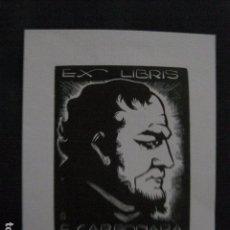 Arte: EX LIBRIS - F.CARBONARA - VER FOTOS -(X-1874). Lote 89095692