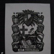 Arte: EX LIBRIS - VER FOTOS -(X-1880). Lote 89095912