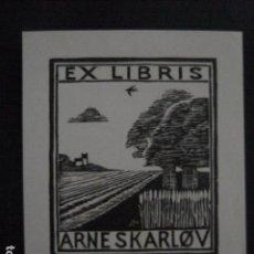 Arte: EX LIBRIS - ARNESKARLOV - VER FOTOS -(X-1888). Lote 89096368